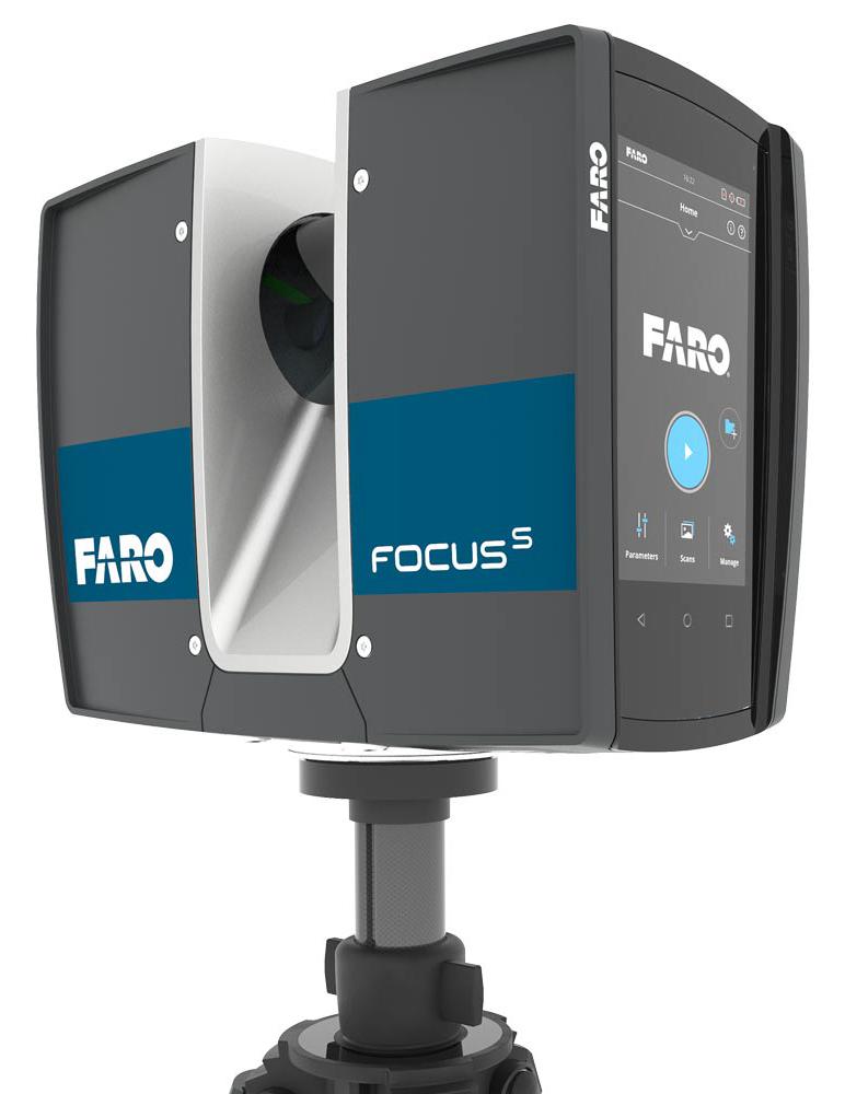 Láser Escáner Faro Focus
