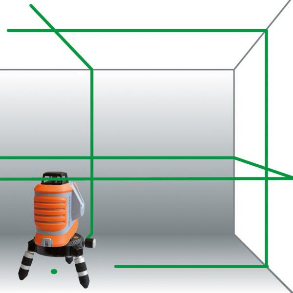 Nivel Láser de Líneas X Liner 360 2 Green