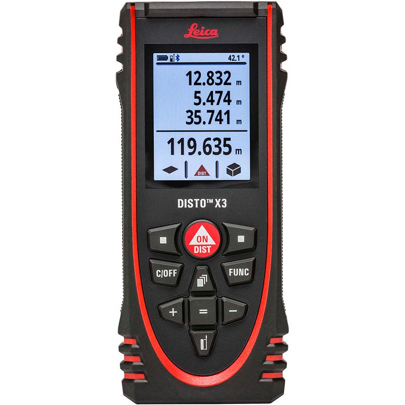 Útiles de medición Distanciómetros Disto x3